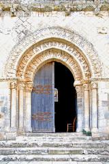 Eglise Notre-Dame - Deutsch:   Château-Larcher, Kirche, Hauptportal