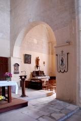 Eglise Notre-Dame - Deutsch:   Château-Larcher, Arkadenbogen Joch 3, in südl. Seitenschiff
