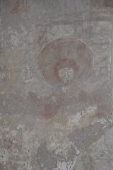 Eglise de Saint-Pierre-les-Eglises - Deutsch: Kirche von Saint-Pierre-les-Églises in Chauvigny im Département Vienne (Nouvelle-Aquitaine/Frankreich), Wandmalereien