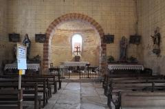 Eglise de Saint-Pierre-les-Eglises - Deutsch: Kirche Saint-Pierre in Saint-Pierre-les-Églises (Chauvigny) im Département Vienne (Nouvelle-Aquitaine/Frankreich)