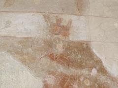 Eglise de Saint-Pierre-les-Eglises - Français:   Photographie d\'une des fresques de l\'abside de l\'église de Saint-Pierre-les-Églises près de Chauvigny dans la Vienne, prise par Accrochoc le 23 août 2006.