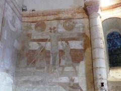 Eglise de Saint-Pierre-les-Eglises - Français:   crucifixion