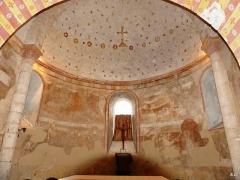 Eglise de Saint-Pierre-les-Eglises - Français:   abside carolingienne et voûte romane