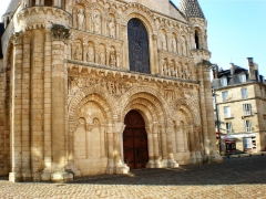 Eglise Notre-Dame-la-Grande - Église Notre-Dame la Grande à Poitiers