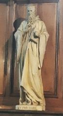 Eglise Saint-Porchaire - Français:   Statue de Saint Porchaire dans l\'église Saint-Porchaire de Poitiers