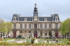 Hôtel de ville -  Mairie de la ville de Poitiers, France