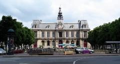 Hôtel de ville - Français:   La Mairie de Poitiers.