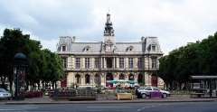Hôtel de ville - Français:   La Mairie de Poitiers. Auteur: Sergey Selyunin. Russie. Site: fr:http://poitiers.tchaykovsky.com/list5/6136.htm