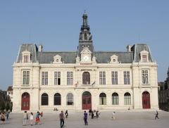 Hôtel de ville - Français:   Hôtel de ville de Poitiers