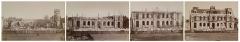 Hôtel de ville - Français:   Alfred Perlat, Construction de l\'hôtel de ville de Poitiers, 1873-1874, épreuves sur papier albuminé d\'après négatif verre au collodion.