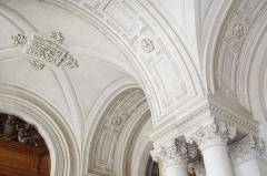 Hôtel de ville - Français:   Voûte du vestibule de l\'hôtel de ville de Poitiers, 19e siècle.