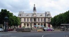 Hôtel de ville - Українська:   Міська ратуша у м. Пуатьє (Франція)