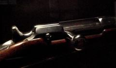 Manufacture d'armes, actuellement Musée de l'automobile - English: Chassepot_bolt_mechanism_model_1866_Mutzig_1869