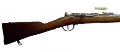 Manufacture d'armes, actuellement Musée de l'automobile - Fusil Chassepot