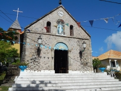 Eglise - English: Terre de Haut,