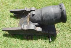 Fort Napoléon - English: Mortar