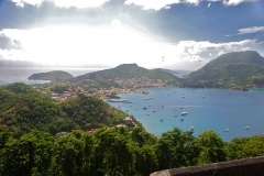 Fort Napoléon -  View from Fort Napoleon, Iles des Saintes, Guadeloupe