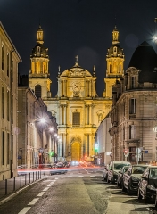 Cathédrale - English: Cathedral of Our Lady of Nancy, Meurthe-et-Moselle, France