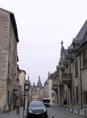Porte de la Craffe -  Main facade of the Palais ducal (Musée lorrain) in Nancy, France.  Photograph taken by Marsyas 15:27, 25 February 2006 (UTC)