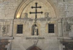 Porte de la Craffe - Détail de la Porte de la Craffe dans la vieille-ville de Nancy en Lorraine