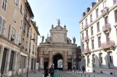 Porte Saint-Georges -  Place Colonel Driant, Nancy, Lorraine, France