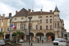 Maison des Sept Péchés Capitaux - English: Pont-à-Mousson, houses at the place Duroc