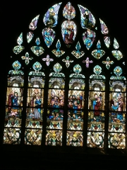 Eglise Notre-Dame - English: Stained-glass window - Notre-Dame d'Avioth