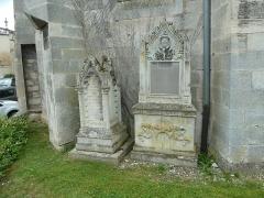Eglise Saint-Pantaléon - Français:   Commercy  cimetière de l\'église P1060959