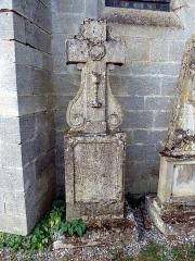 Eglise Saint-Pantaléon - Français:   Commercy cimetière de l\'église P1070028