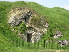 Fort - English: Exit (or entry) of Fort Douaumont, Verdun