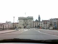 Porte Chaussée (porte et passage entre deux tours) -  Verdun, Zolltor