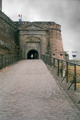 Citadelle - English: Bitche, entrance to the the citadel