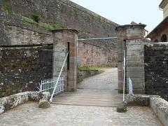 Citadelle - Deutsch: Bitsch (FR), Zugbrücke der Zitadelle.
