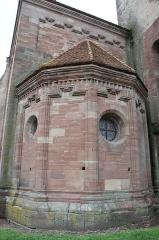 Abbaye - Français:   Hesse 57 absidiole
