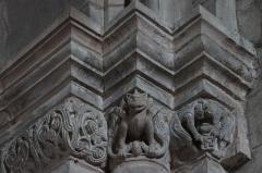 Abbaye - Français:   Hesse 57 frise romane