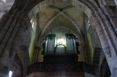 Abbaye - Français:   Hesse 57 orgue