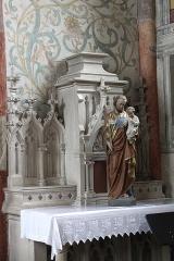 Eglise Saint-Martin - English: Sillegny, Saint Martin church, side altar