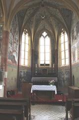Eglise Saint-Martin - English: Sillegny, Saint Martin church, the apse