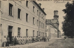 Eglise Saint-Simon et Saint-Jude - Kiswahili: bayerische Infanteriekaserne in der Aimèstrasse