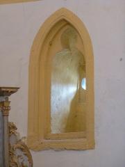 Eglise - Intérieur de l'église Notre-Dame de Champ-le-Duc (Vosges, Lorraine, France).