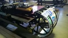 Imagerie Pellerin (bâtiments et machines qu'ils renferment) - Français:   Machine servant à la mise en couleurs des images d\'Épinal.