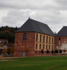Ancienne abbaye - Français:   Grange de l\'abbaye