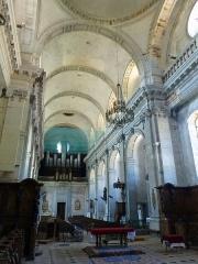 Ancienne abbaye - Français:   Abbaye de Moyenmoutier (Vosges): nef