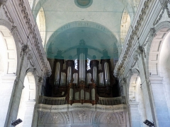 Ancienne abbaye - Français:   Moyenmoutier (Vosges): orgue de l\'abbaye
