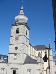 Abbaye -  L'église Saint-Pierre de Remiremont (Vosges)