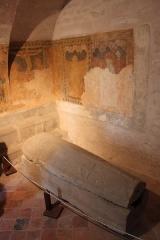 Abbaye - Français:   Crypte de l\'abbatiale Saint-Pierre, Remiremont, Vosges, Lorraine, France