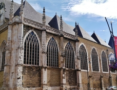 Eglise Saint-Eloi - Deutsch: Kirche St. Éloi, Dünkirchen, Département Nord, Region Oberfrankreich (ehemals Nord-Pas-de-Calais), Frankreich