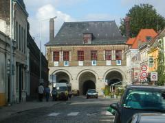 Porte de Gand et ensemble des fortifications -