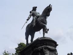 Statue de Faidherbe - English: Equestrian statue of General Louis Faidherbe (1818-1889) in Lille, France.