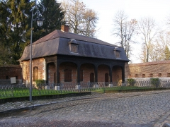 Fortifications - English: Vauban, ramparts: the guardhouse.